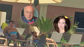 Slováček vyrazil s Gelemovou do Maroka: Mrzutý muzikant si na všechno stěžoval!