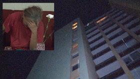 František po hádce s manželkou záhadně vypadl z okna v 10. patře.
