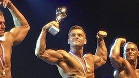 Dozorce z věznice v Kynšperku nad Ohří, Ondřej Lukáč, získal třetí místo na mistrovství světa