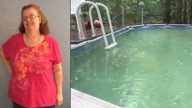 Ženu se z bazénu podařilo zachránit, protože si pomoc přivolala tabletem.