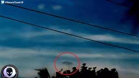 Údajné UFO nad Filipínami rozvířilo diskuzi.