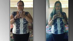 Kim zhubla neuvěřitelných 50 kilo.