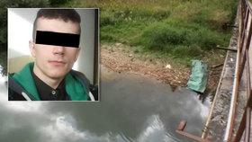 Dominik (†17) se utopil v jezeře, u kterého popíjel s kamarády.