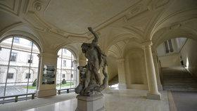 Černínský palác je od první světové války sídlem ministerstva zahraničí.