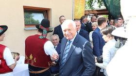 Václav Klaus na Zemi Živitelce