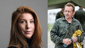 Švédská novinářka Kim Wallová a dánský vynálezce Peter Madsen