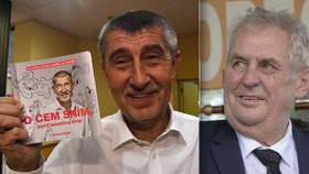 O Zemana s Babišem se zajímá úřad na kontrolu financování kampaní. Kvůli cestám do krajů i vydané knize...