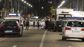 Útočník v Bruselu napadl nožem hlídku, ta ho postřelila