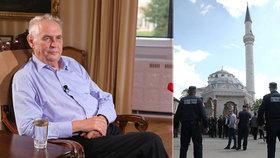 Miloš Zeman to schytal za svá slova o Bosně a teroristech