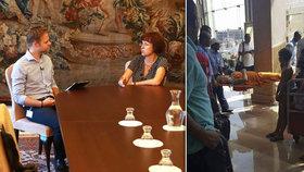 Rodina zemřelé Lénky v Egyptě se zřejmě dočká odškodnění. Egypt vyšetřuje běsnění útočníka ale podle velvyslankyně Veroniky Kuchyňové Šmigolové pomalu