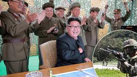 Jižní Korea připravila tajný plán, zahrnuje atentát na Kim Čong-una.