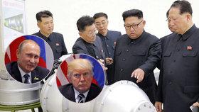 Jaderné testy režimu diktátora Kim Čong-una dál děsí svět, Putin žádá mírové řešení, Trump tvrdý trest.