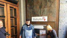 Babybox na radnici Prahy 2