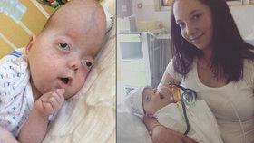 Zemřel Sebastianek, miminko s vzácným syndromem, kterému drželo palce celé Česko