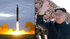 Kim Čong-un disponuje střelami, které mohou zasáhnout prakticky celou Evropu.
