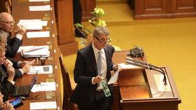 Andrej Babiš požádal Poslaneckou sněmovnu o zbavení imunity a vydání k trestnímu stíhání kvůli kauze Čapí hnízdo. 6. září 2017
