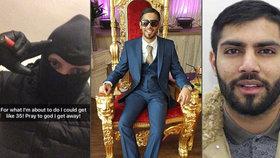 Britská policie dopadla čtyřčlenný drogový gang. Muži se chvástali na Facebooku.