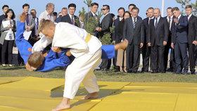 Vladimir Putin na ekonomickém fóru ve Vladivostoku