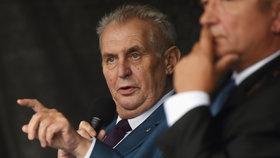 Prezident Zeman na návštěvě Moravskoslezského kraje