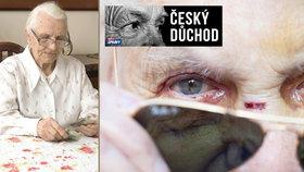V Česku jsou tisíce trpících seniorů.