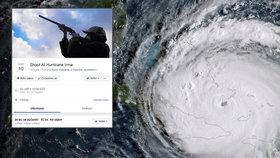 Přibudou tisíce nových kandidátů o Darwinovu cenu? Tisíce Američanů se chystají střílet po hurikánu.