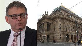 Národní divadlo kritizuje Zaorálka za agitaci. Zrušil jim kvůli tomu zkoušku.