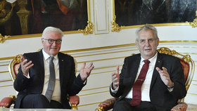 Návštěva německého prezidenta v Praze