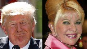 Ivana Trumpová řekla, že její exmanžel Donald Trump jí pozici velvyslankyně chtěl dát.