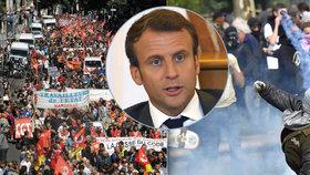 Reformy zákoníku práce vyvolaly ve Francii vlnu protestů.