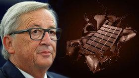 Juncker slibuje více kakaa v čokoládě.