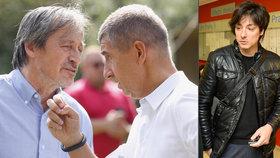 Martin Stropnický se Andreje Babiše zastává, jeho syn Matěj Stropnický do šéfa ANO šije.