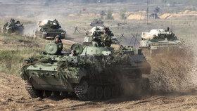 Rusko a Bělorusko cvičí jak bojovat se Západem