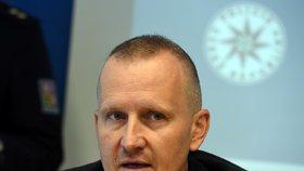 Vedoucí odboru obecné kriminality Martin Charvát