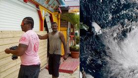 V Karibiku se obávají hurikánu Maria.