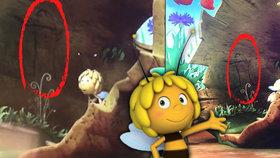 Ve Včelce Máje ukazují podle militantní matky penis.