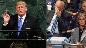Reakce na Trumpovu řeč