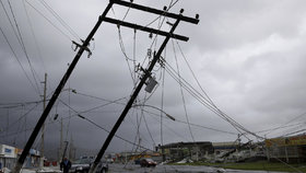 Hurikán Maria řádil v Portoriku.