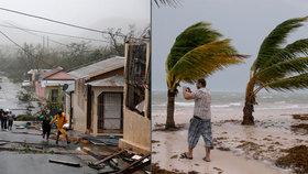 Hurikán Maria už si vyžádal 10 obětí.