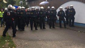 Česká a rakouská policie na společném cvičení Bez hranic 2017