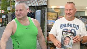 Jiří Kajínek (56) žije v poklusu a hubne!