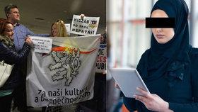 """""""Topíte se v nenávisti."""" Hájila u soudu dívku v hidžábu, teď čelí zlobě """"naštvaných matek"""""""