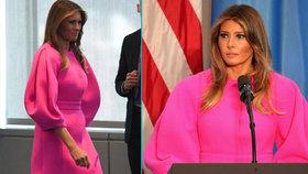 Melania Trumpová přivítala manželky lídrů, kteří dorazili na Valné shromáždění OSN.