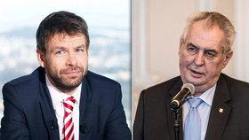 Pro justici chceme nejlepší soudce z každé generace, shodli se Zeman s Pelikánem.