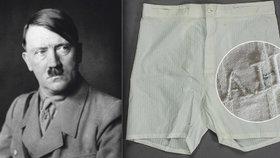 Trenýrky Adolfa Hitlera prošly aukcí.