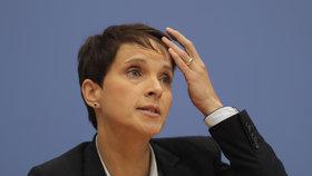 Petryová odešla z AfD, součástí parlamentu nebude.