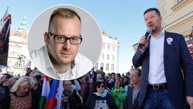 Starosta Prahy 6 Ondřej Kolář podal trestní oznámení na Tomia Okamuru.