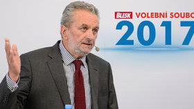 Ivan Gabal v debatě Blesk Volební souboj 2017 na téma Do zbraně!