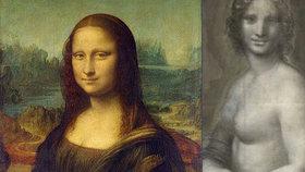Ve Francii objevili náčrtek nahé Mony Lisy.