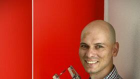 Milan Reindl jako jediný Čech vymýšlí nové modely pro Lego.