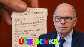 Ministr financí Ivan Pilný (ANO) a první losování Účtenkovky